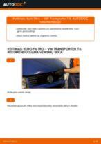Automechanikų rekomendacijos VW VW T5 Van 2.5 TDI 4motion Kombinuotas galinis žibintas keitimui
