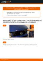 Cum să schimbați: filtru combustibil la VW Transporter T4 | Ghid de înlocuire