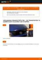 Hoe brandstoffilter vervangen bij een VW Transporter T4 – vervangingshandleiding