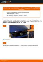 Automekaniker anbefalinger for udskiftning af VW VW T4 Transporter 2.4 D Gearkasseolie