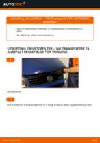 Slik bytter du drivstoffilter på en VW Transporter T4 – veiledning