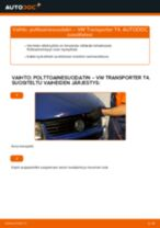 VW TRANSPORTER huoltokirja