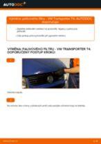 Jak vyměnit palivový filtr na VW Transporter T4 – návod k výměně