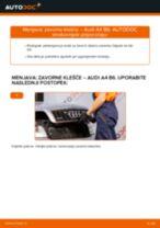 Kako zamenjati zadaj in spredaj Blažilnik Audi A8 D4 - vodič spletu