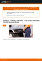 Automechanikų rekomendacijos AUDI Audi A4 B7 Sedanas 1.9 TDI Stabdžių diskas keitimui