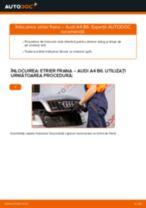 Instalare Etrier frana spate si față AUDI cu propriile mâini - online instrucțiuni pdf