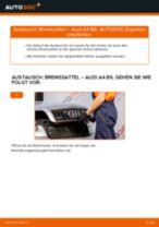 Wie Audi A4 B6 Bremssattel vorne wechseln - Anleitung