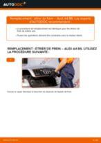Comment changer : étrier de frein avant sur Audi A4 B6 - Guide de remplacement