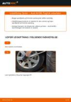 Udskift fjeder for - Audi A4 B6 | Brugeranvisning
