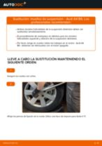 Cómo cambiar: muelles de suspensión de la parte delantera - Audi A4 B6 | Guía de sustitución