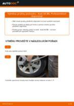 Jak vyměnit přední pružiny podvozku na Audi A4 B6 – návod k výměně
