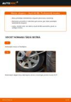Kā nomainīt: priekšas atsperes Audi A4 B6 - nomaiņas ceļvedis