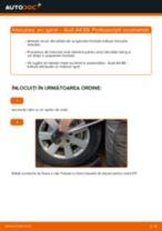 Înlocuirea Set rulment roata la AUDI A4 (8E2, B6) - sfaturi și trucuri utile