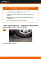 Hátsó toronycsapágy-csere VW Passat 3C B6 Variant gépkocsin – Útmutató