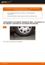 VW PASSAT stapsgewijze handleidingen over onderhoud