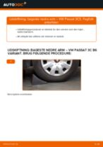 Udskiftning af Abs føler på VW SHARAN - tip og tricks
