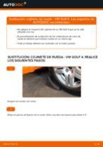 Cómo cambiar: cojinete de rueda de la parte delantera - VW Golf 4 | Guía de sustitución
