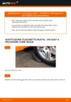 Come cambiare cuscinetto ruota della parte anteriore su VW Golf 4 - Guida alla sostituzione