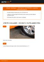 Byta hjullager fram på VW Golf 4 – utbytesguide
