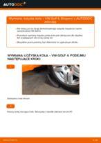 Jak wymienić łożysko koła przód w VW Golf 4 - poradnik naprawy