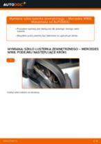 Jak wymienić szkło lusterka zewnętrznego w Mercedes W168 - poradnik naprawy