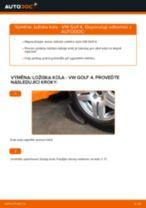 Jak vyměnit a regulovat Lozisko kola VW GOLF: průvodce pdf