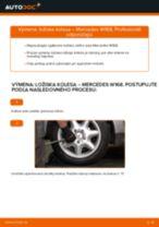 Ako vymeniť zadné ložisko kolesa na Mercedes W168 diesel – návod na výmenu