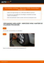 Zelf Ruitenwisserstangen achter en vóór vervangen SEAT - online handleidingen pdf