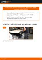 Come cambiare molle di sospensione della parte anteriore su Mercedes W168 diesel - Guida alla sostituzione