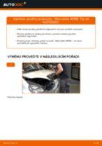 Jak vyměnit a regulovat Zapalovaci svicka MERCEDES-BENZ A-CLASS: průvodce pdf