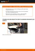 Wie Gestänge Scheibenwischer hinten links rechts beim MERCEDES-BENZ A-CLASS (W168) wechseln - Handbuch online