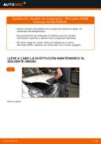 Cómo cambiar: muelles de suspensión de la parte delantera - Mercedes W168 diésel   Guía de sustitución