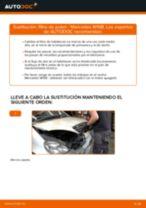 Cómo cambiar: filtro de polen - Mercedes W168 diésel   Guía de sustitución