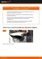 Come cambiare filtro antipolline su Mercedes W168 diesel - Guida alla sostituzione
