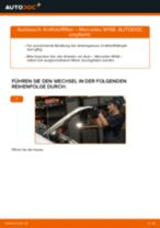 Schritt-für-Schritt-PDF-Tutorial zum Kraftstofffilter-Austausch beim MERCEDES-BENZ A-CLASS (W168)