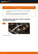 Wie Mercedes W168 Diesel Kraftstofffilter wechseln - Schritt für Schritt Anleitung