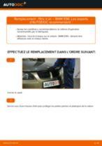 Comment changer : filtre à air sur BMW E90 essence - Guide de remplacement