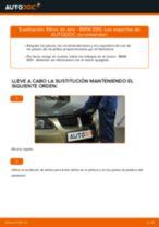 Cómo cambiar: filtros de aire - BMW E90 gasolina | Guía de sustitución