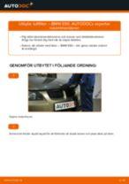 Hur byter man och justera Luftfilter BMW 3 SERIES: pdf instruktioner