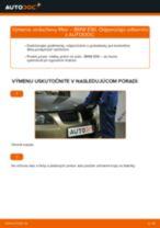 Ako vymeniť vzduchový filtr na BMW E90 bensin – návod na výmenu