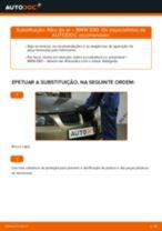 Substituição Braço transversal longitudinal oblíquo BMW 3 SERIES: pdf gratuito