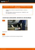 Kuidas vahetada BMW E90 bensiin õhufiltri – õpetus
