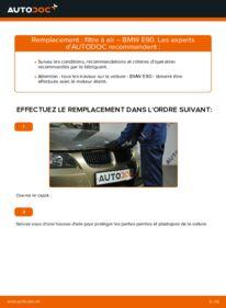 Comment effectuer un remplacement de Filtre à Air sur 320d 2.0 BMW E90