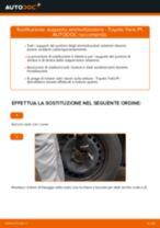 Come cambiare supporto ammortizzatore della parte anteriore su Toyota Yaris P1 - Guida alla sostituzione