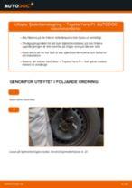 Byta fjäderbenslagring fram på Toyota Yaris P1 – utbytesguide