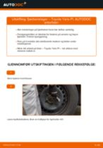 Slik bytter du fjærbenslager fremme på en Toyota Yaris P1 – veiledning