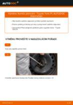 Jak vyměnit a regulovat Brzdové Destičky TOYOTA YARIS: průvodce pdf