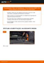 Instalação Mangueira de travão FORD MONDEO III Estate (BWY) - tutorial passo-a-passo