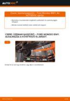 Autószerelői ajánlások - Ford Mondeo mk3 Sedan 2.0 16V Termosztát cseréje