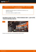 BMW F13 priekyje dešinė Pasukimo trauklė pakeisti: žinynai pdf